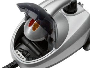 Dampfsauger Test Clatronic DR 3280 Dampfreiniger / 4 bar / silber-metallic - 2