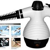 Handdampfreiniger Multi Dampfreiniger Steam Extreme Handdampfreiniger Dampfreinigungsgerät 1.100 Watt Inkl. 10-teiligem Zubehör Max. 3,5bar - 1