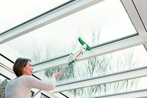 Fensterdampfreiniger Leifheit 51147 Fenstersauger mit Stiel und Einwascher - 10