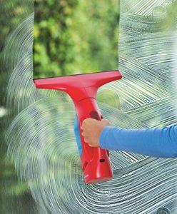 Fensterdampfreiniger Vileda Windomatic Fenstersauger mit flexiblem Kopf für streifenfreie Fenster - 2