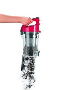 cleanmaxx Staubsauger | 700 W | Haushaltsreinigung | Bodenreinigung EEK A, grau / rot - 7