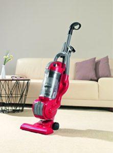 cleanmaxx Staubsauger | 700 W | Haushaltsreinigung | Bodenreinigung EEK A, grau / rot - 5